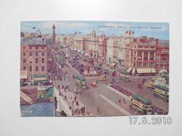 Dublin. - O'Connell Street And Bridge. (28 - 11 - 1959) - Dublin