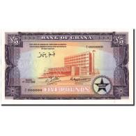 Billet, Ghana, 5 Pounds, 1958, 1958-07-01, Specimen, KM:3s2, NEUF - Ghana