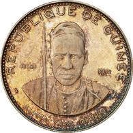 Monnaie, Guinée, 250 Francs, 1969, SPL, Argent, KM 13 - Guinée