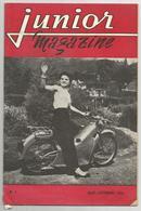Revue   Junior Magazine N°3 1954 - Moto