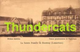 CPA  LA SAINTE FAMILLE DE ROUVROY LAMORTEAU PRETRES EMERITES DAMES PENSIONNAIRES ET ORPHELINES - Rouvroy