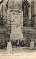60. Bouconvilliers. Monument Aux Morts De La Grande Guerre - Sonstige Gemeinden