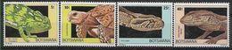 1980 BOTSWANA 395-98** Reptiles, Tortue - Botswana (1966-...)