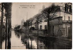 INNONDATIONS 1910 CORBEIL RUE FERAY TRES ANIMEE - Corbeil Essonnes