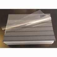 Stock Cards Pack Of 100 / 210 X 148mm (A5) / 5 Crystal Clear Strips + Protective Flap - Klasseerkaarten