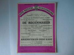 KNS Antwerpen Schouwburg Toneel Programma Met Dora Van Der Groen Februari 1956 Briefkaart Pre 654 Form 11,7 X 15 Cm - Programmes