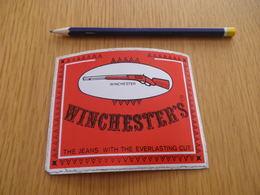 Autocollant -  - VETEMENTS - Jean's WINCHESTER'S - Stickers