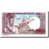 Billet, Lao, 50 Kip, 1963, Specimen TDLR, KM:12s2, NEUF - Laos