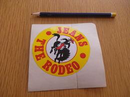 Autocollant -  - VETEMENTS - Jeans THE RODEO - Autocollants