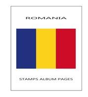 Suplemento Filkasol RUMANIA 2006-2010 - Montado Con Filoestuches HAWID Transparentes - Álbumes & Encuadernaciones