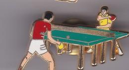 Pin's   TENNIS DE TABLE SIGNE ARTHUS BERTRAND - Table Tennis