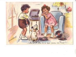 G. Bouret : EAEC ; Celle-là,...elle En A Que Pour Son Tino !... - Bouret, Germaine