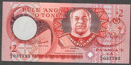TONGA P32d 2 PAANGA 1995    UNC. - Tonga