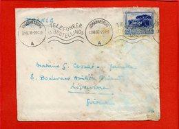 AFRIQUE DU SUD, Lettre De Johannesburg De 1936, Pour La France Libourne - Afrique Du Sud (1961-...)