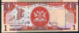 Trinidad & Tobago P46A 1Dollar 2006  Issued 2014 Mark For Blind Unc. - Trinidad & Tobago