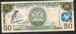 TRINITE AND TOBAGO  P53 50 DOLLARS 2012  COMMEMORATIVE   UNC. - Trinidad & Tobago