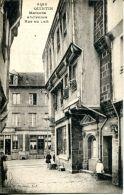 N°62539 -cpa Quintin -maisons Anciennes Rue Au Lait- - Otros Municipios
