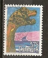 Danemark Denmark 1993 Bateau Viking Ship Obl - Gebruikt