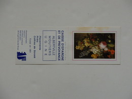 Petit Calendrier De La Caisse D'épargne De Albertville-Moutiers-Ugine (73). - Calendars