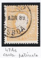 Portogallo  1870 Unif.47c O/Used VF/F - Oblitérés