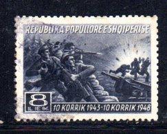 441 490 - ALBANIA 1948 , Yvert N. 397  Usato - Albania