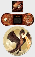 New Zealand 2014 Single Coin - The Hobbit: The Battle Of The Five Armies Brilliant Uncirculated Coin - New Zealand