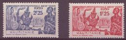 ⭐ Mauritanie - YT N° 98 Et 99 ** - Neuf Sans Charnière - 1939 ⭐ - Unused Stamps