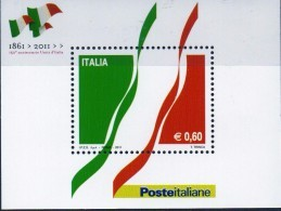 PIA  -  ITALIA  -  2011  : 150° Della Proclamazione Del Regno D' Italia -   (SAS  Bf  66) - 6. 1946-.. Republic