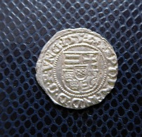 HUNGARY / FERDINAND I.(1526-1564) SILVER DENAR 1552 H-P / UNGER 744.q - HUSZAR -- - Hungary