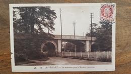 CPA LE VESINET - Le Nouveau Pont D'Alsace-Lorraine - Timbre Pétain 1F50 - Le Vésinet