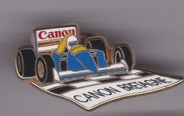 Pin's CANON BRETAGNE SIGNE ARTHUS BERTRAND - F1