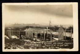 GOSSELMING - 6 Officiers, 139 Soldats Français - Bataille Du 20 Août 1914 - Francia