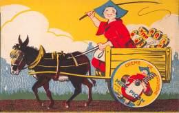 Saint Felix - Carte Publicitaire Des Fromageries De La Mère Picon (2) - France