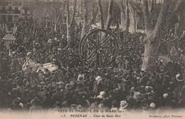 34/ Pezenas - Fete De La Charité Du 19 Mars 1911 - Char De Saint Eloi N° 115 - Pezenas