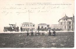 62 - WIMEREUX : LE TRAIN RENARD , ARRET A L'HOTEL COSMOPOLITE . - Andere Gemeenten