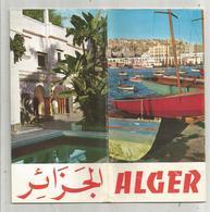 Dépliant Touristique , ALGERIE , ALGER , 24 Photos  ,  30 Pages , 3 Scans , Frais Fr 1.85 E - Tourism Brochures