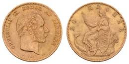 Christian IX., 1863-1906, 20 Kroner, 1877, Feine Kratzer,  KM 791.1, Vz - Denmark