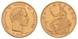 Christian IX., 1863-1906, 20 Kroner, 1900,  KM 791.2, Vz - Denmark