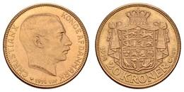 Christian X., 1912-1947, 20 Kroner, 1914,  Fried. 817.1, Vz - Denmark