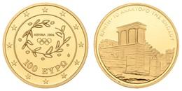 100 €, 2004, Olympische Sommerspiele - Königspalast Von Knossos Auf Kreta, Nur Gekapselt,  EM GR-106, PP - Grecia