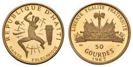 50 Gourdes, 1967, Paris, 10. Jahrestag Der Revolution,  Fried. 4 KM 68, Ex PP - Haiti