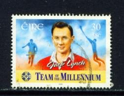 IRELAND  -  2000  Team Of The Millennium  30c  Used As Scan - 1949-... Republic Of Ireland