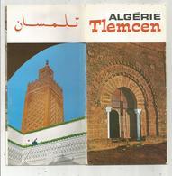 Dépliant Touristique , ALGERIE , TLEMCEN , 17 Photos  ,  18 Pages , 4 Scans , Frais Fr 1.75 E - Tourism Brochures