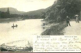 003688  Bad Kreuznach - Parthie Am Fluss 1904 - Bad Kreuznach