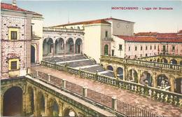 X2559 Cassino (Frosinone) - Abbazia Di Montecassino - Logge Del Bramante / Non Viaggiata - Altre Città