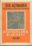 Nr.80 Deutschland-Bildheft - Die Altmark (Gebiet: Stendal-Gardelegen-Salzwedel) - Saxe-Anhalt
