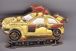 Pin's PARIS LE CAP - Rallye