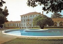 Cartolina Zerman Di Mogliano Veneto Hotel Villa Condulmer Piscina 1990 - Treviso