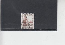 ITALIA  1959 - Sassone  871/I°(dentellatura 14 X 13 Mezzo) - O.I.L. - 6. 1946-.. Repubblica