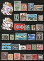 BRITISH COMMONWEALTH---Collection Of USED DL-594 - Timbres